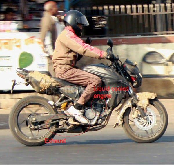 Bajaj Pulsar 2012 Spy Pictures (3)