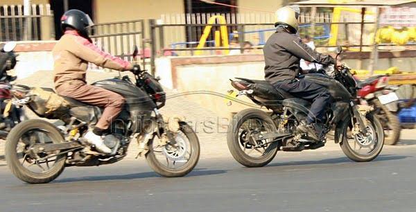 Bajaj Pulsar 2012 Spy Pictures (6)