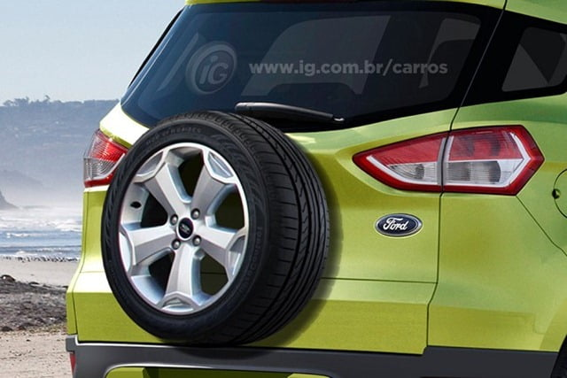 Ford Ecosport Rendering (1)