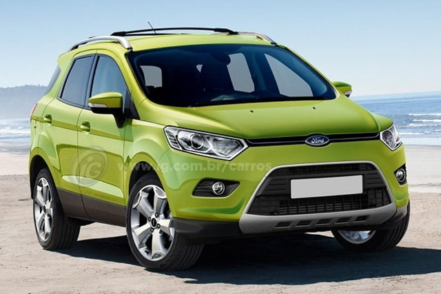 Ford Ecosport Rendering (2)