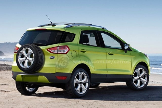 Ford Ecosport Rendering (3)