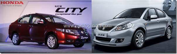 Honda-City-2011-vs-maruti-sx4