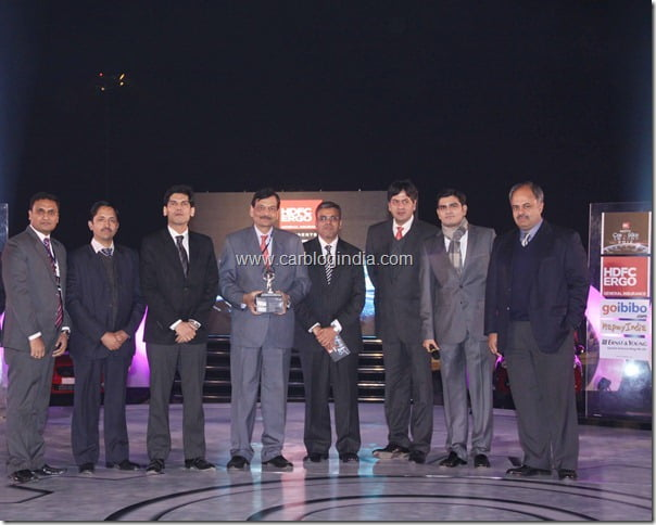 Hyundai Verna -Car Of The Year- NDTV Car & Bike Awards 2012
