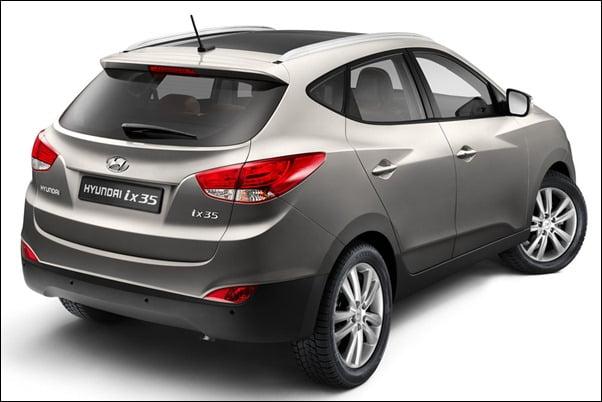 Hyundai-ix35-Tucson SUV rear