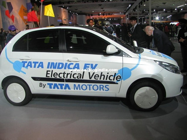 Tata Manza Hybrid Car With Refreshed Styling At Auto Expo 2012