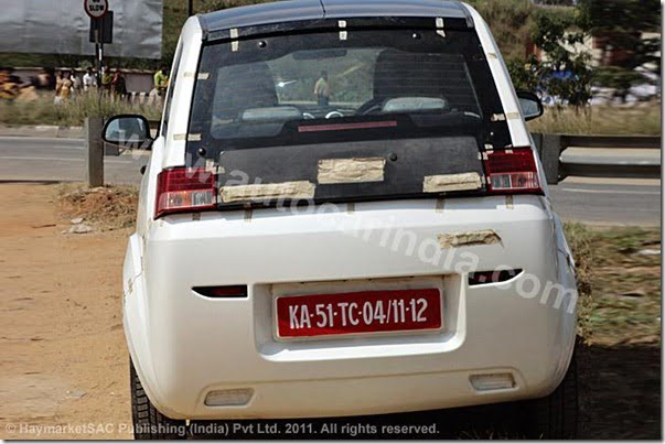 Mahindra Reva NXR Spy Pictures India