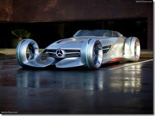 Mercedes Benz Silver Arrow Concept Car (3)
