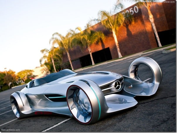 Mercedes Benz Silver Arrow Concept Car (4)