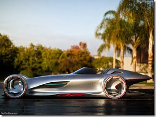 Mercedes Benz Silver Arrow Concept Car (5)