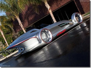 Mercedes Benz Silver Arrow Concept Car (6)