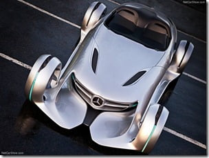 Mercedes Benz Silver Arrow Concept Car (7)