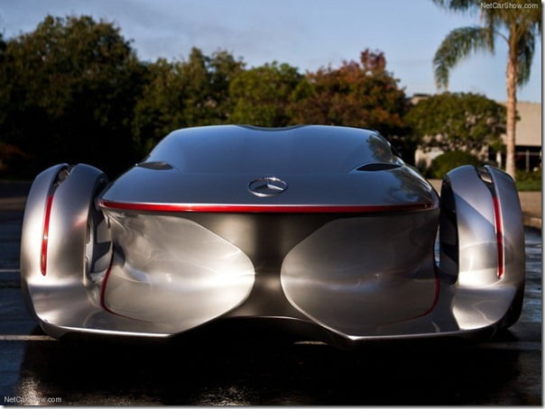 Mercedes Benz Silver Arrow Concept Car (8)