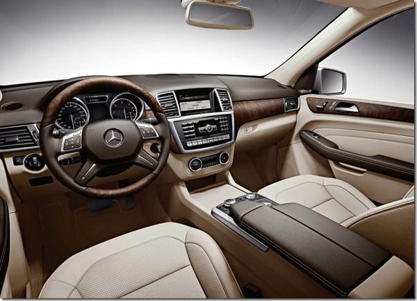 Mercedes-Benz-M-Class 2012 interior