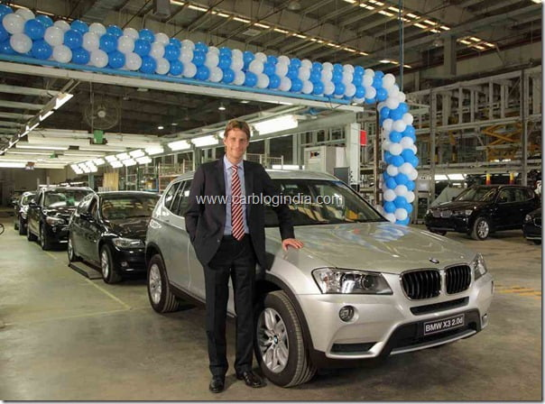 Mr. Juergen Eder, Managing Director, BMW Plant Chennai