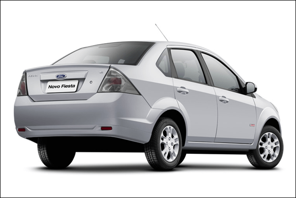 New Ford Figo Sedan rear