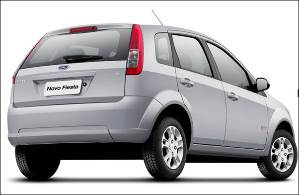 New Ford Figo rear