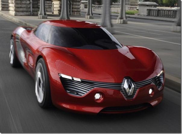 Renault Dezir Concept Car front