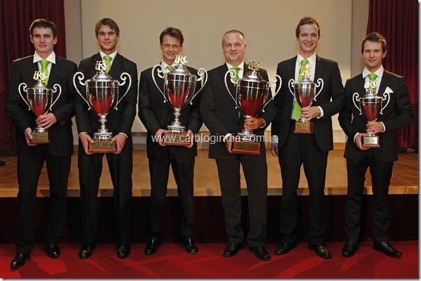 SKODA awarded double IRC Champion honours (1)