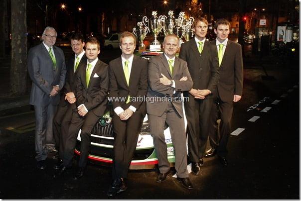 SKODA awarded double IRC Champion honours (2)