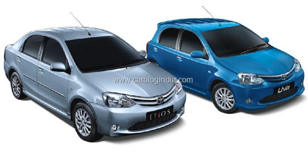 Toyota Etios And Etios Liva Recall In India All Details