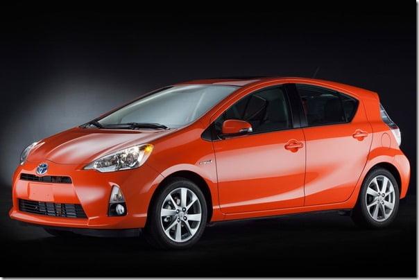 Toyota-Prius_C Compact Hybrid