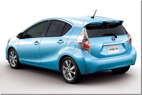 Toyota-Prius_C Compact Hybrid colour