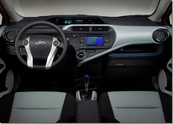 Toyota-Prius_C Compact Hybrid interiors