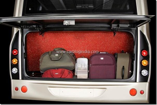 Ultra Luxury luggage booth