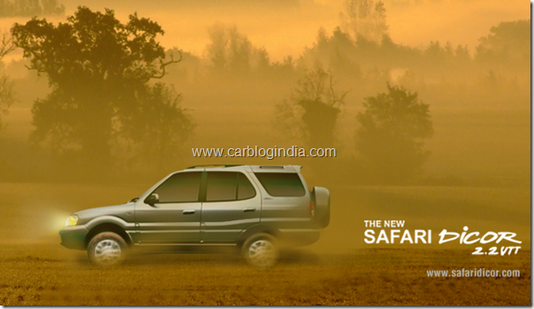 tata safari dicor india