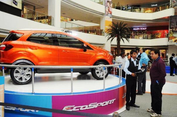 Ford India Brings EcoSport SUV To Mumbai After Delhi Auto Expo 2012