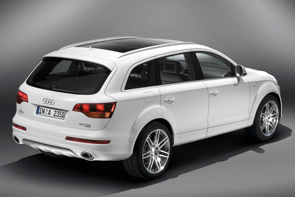 audi q7 v12 a more powerful version of q7 at the 2012 auto expo. Black Bedroom Furniture Sets. Home Design Ideas