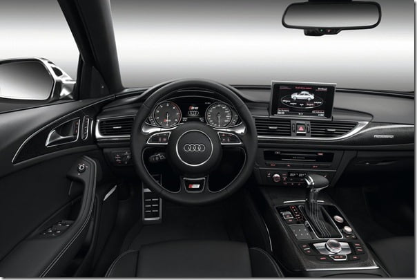 Audi-S6_2013 sports car interiors