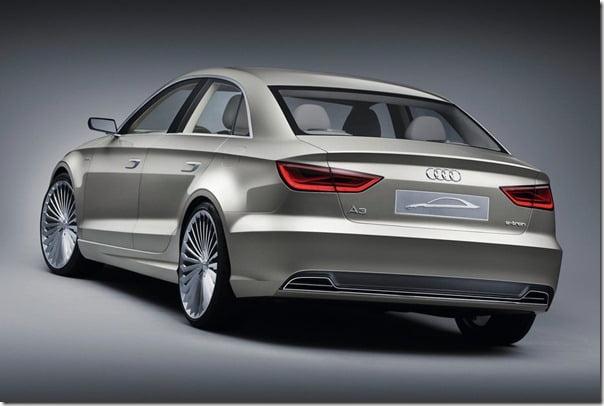 Audi A3 e-Tron Concept rear