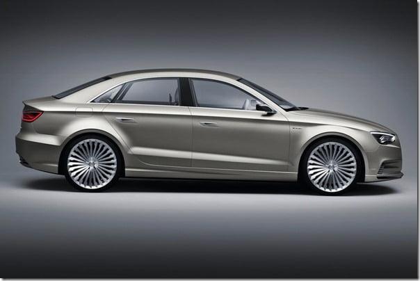 Audi A3 e-Tron Concept side