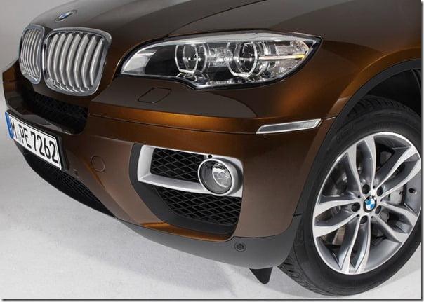 BMW-X6_2013 closeup shot