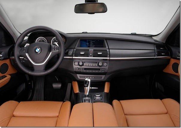 BMW-X6_2013 interiors