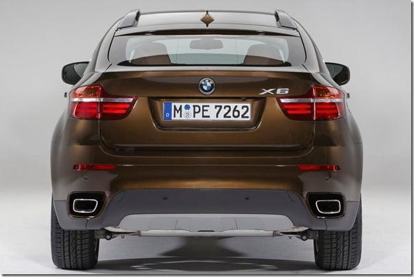BMW-X6_2013 rear