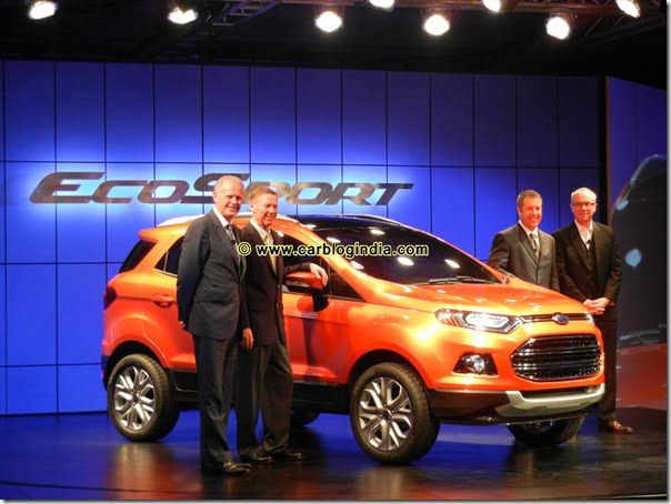 Ford Global Car EcoSport In India