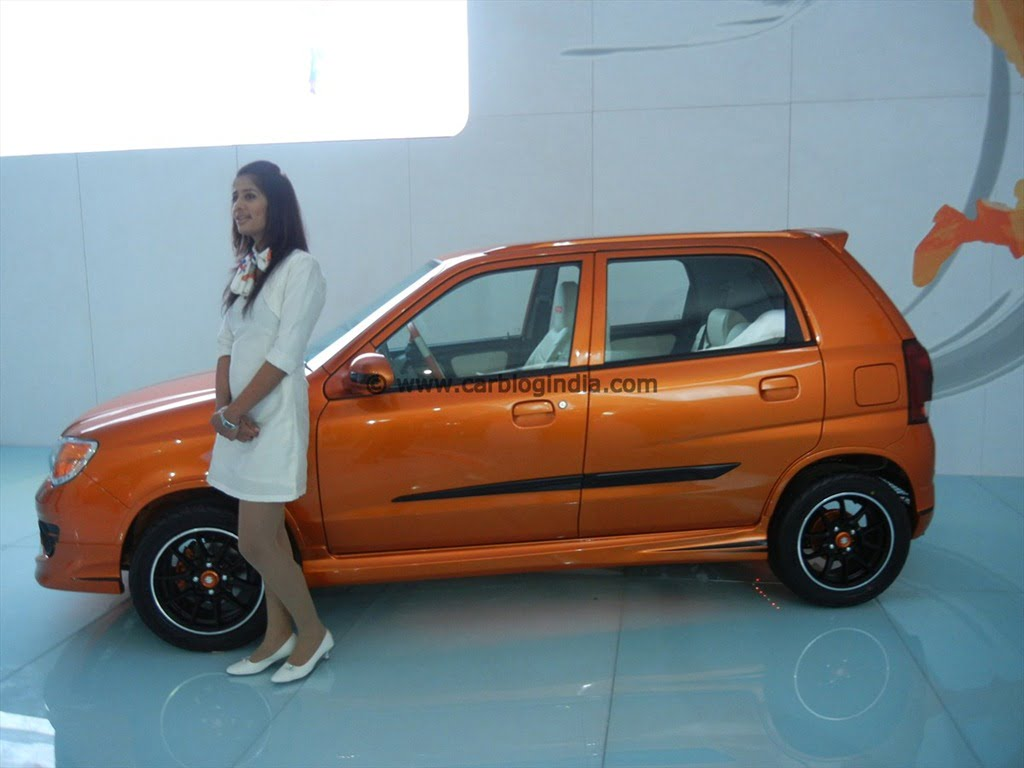 Maruti Concept Theme Cars At Auto Expo 2012 New Delhi India