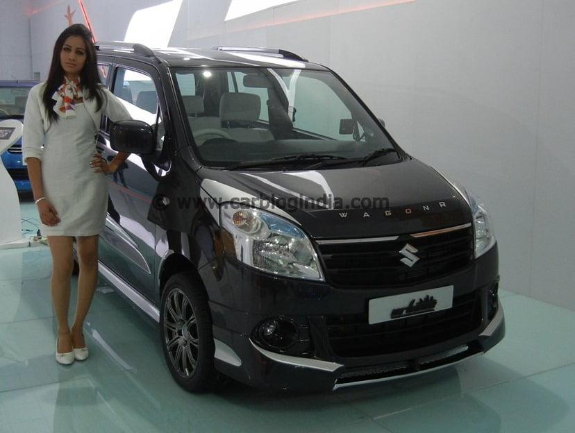 Maruti wagon r partsopen for Alto car decoration