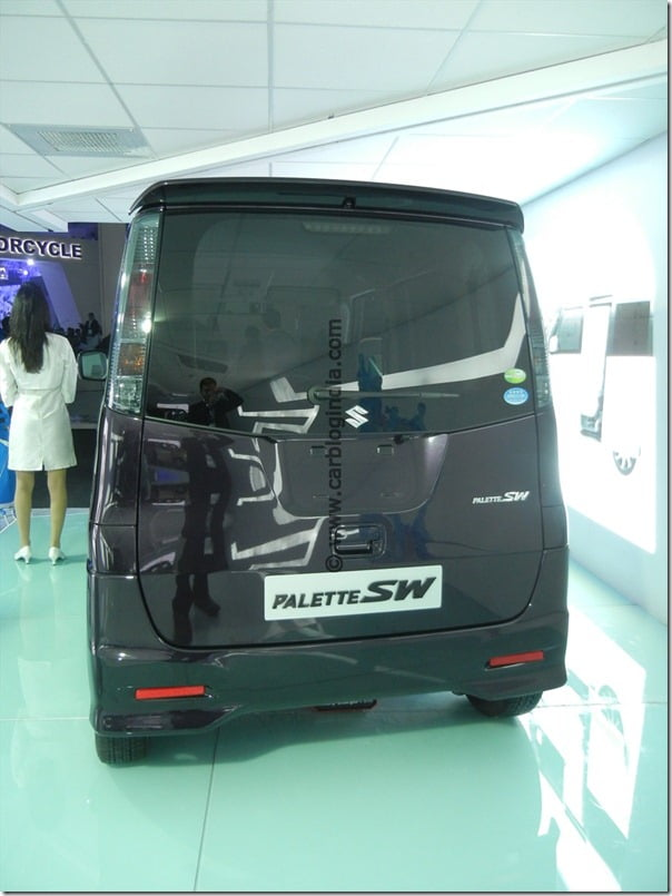 Suzuki MR Wagon 660 CC At Auto Expo 2012– Will It Be 2014 Maruti Wagon R?