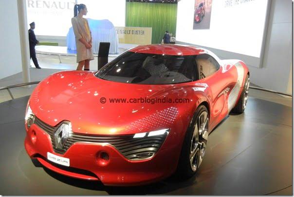 Renault Showcases DeZir Electric Concept At Auto Expo 2012