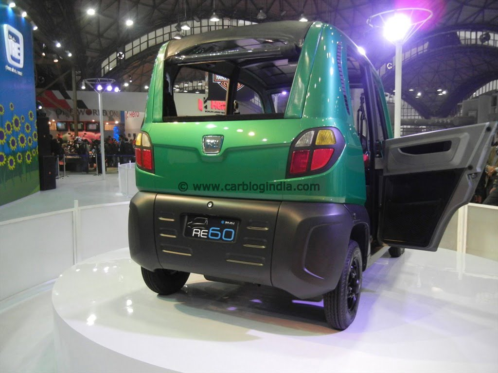 Bajaj Re60 Pictures Videos And Details From Auto Expo 2012