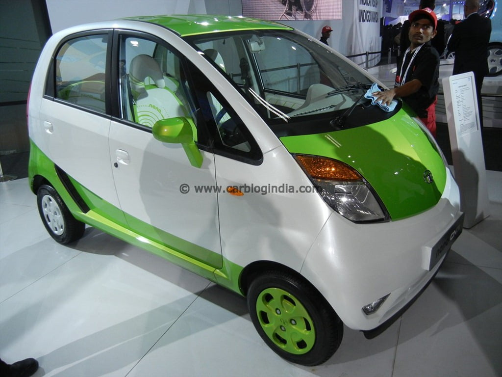 Tata Nano CNG Concept Car Specifications, Pictures And Details