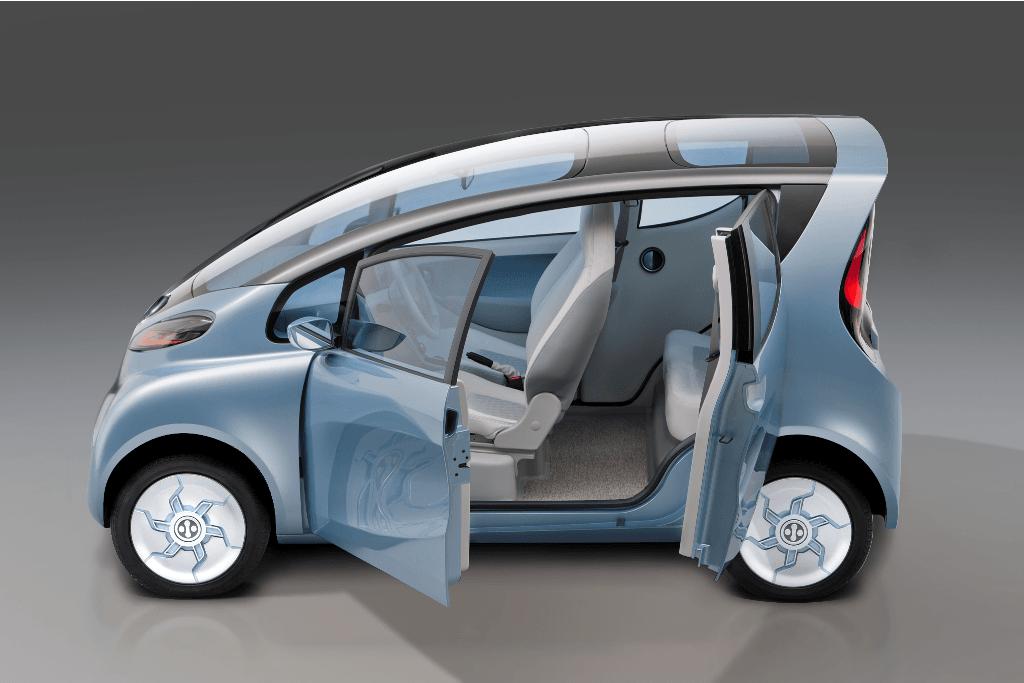 tata emo electric car concept pictures  details  detroit motor show