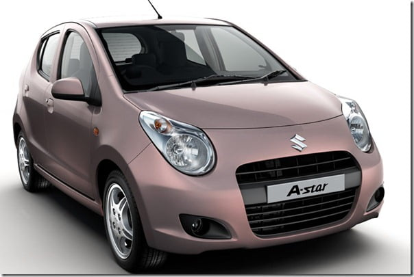 Maruti A-Star 2012 Model Gets Minor Upgrades–Features & Price