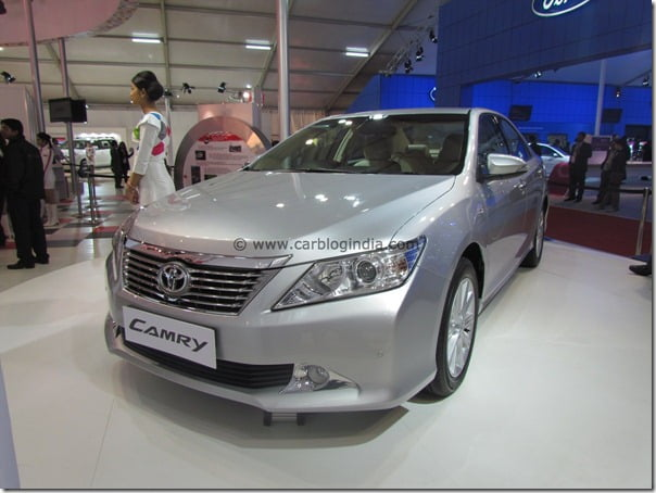 Toyota Camry 2012 New Model For India At The Auto Expo 2012