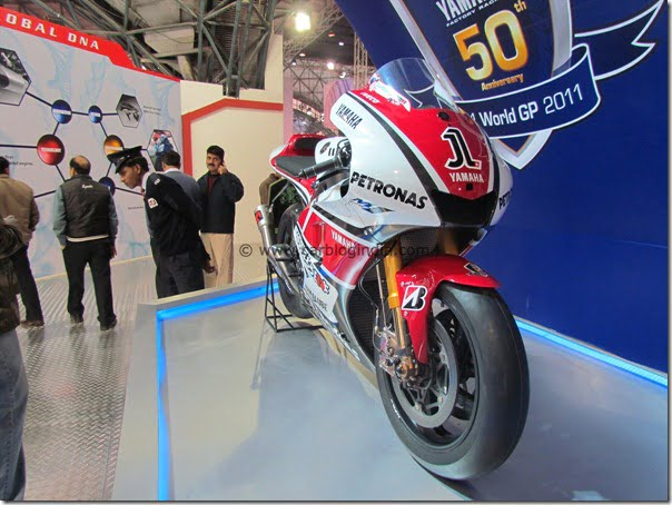 Yamaha Scooters and Bikes At The Auto Expo 2012 In India– Pictures and Details