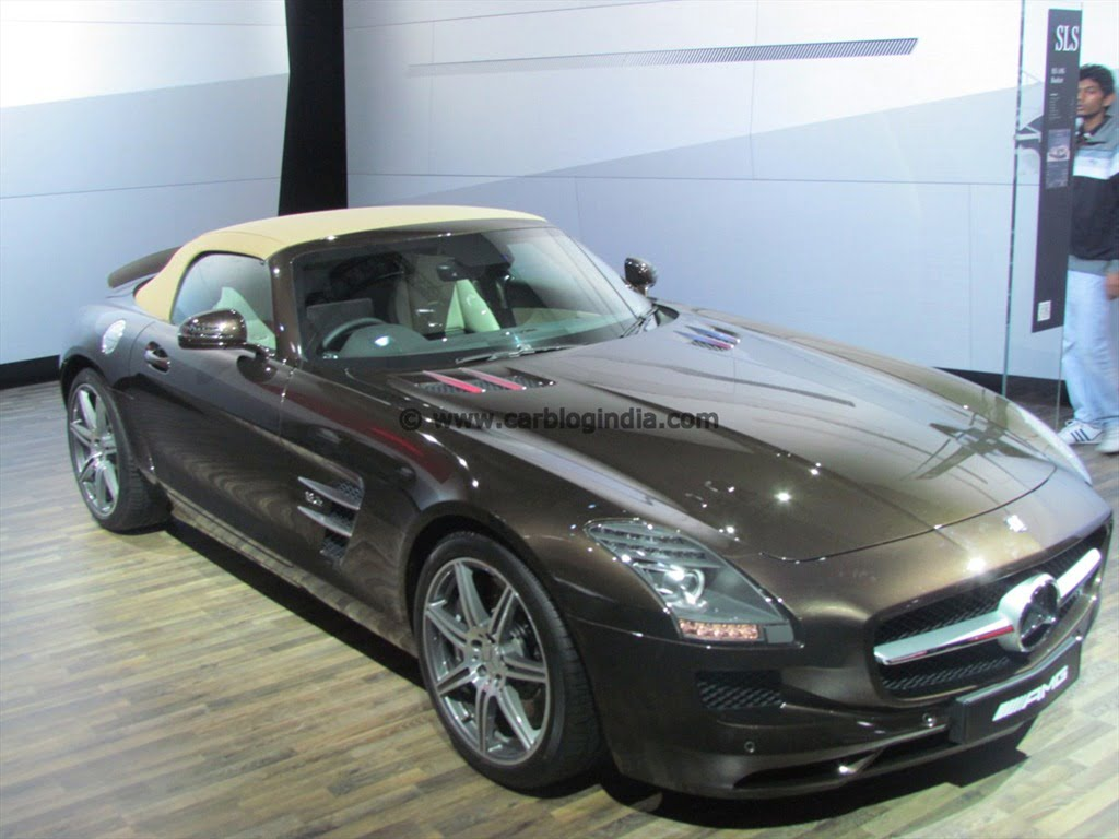 Mercedes benz showcases indian cars line up at 2012 auto for Mercedes benz line up
