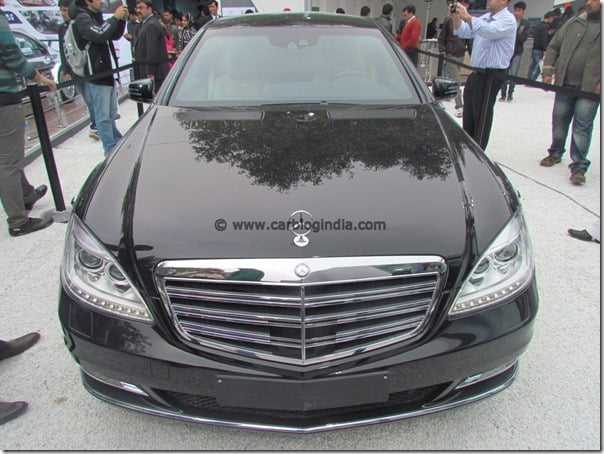 Mercedes Benz Showcases Indian Cars Line-up At 2012 Auto Expo– Exclusive Pictures